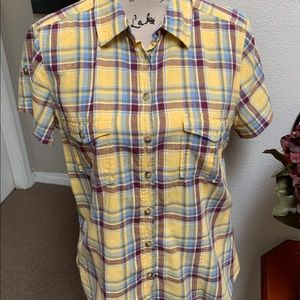 H&M women's plaid shirt 👚